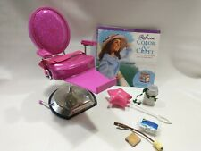 """New American Girl 18/"""" Doll Hair Styling Salon Chair Spa Retired Brand New"""