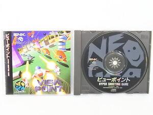 VIEW-POINT-NEO-GEO-CD-Neogeo-SNK-Japan-Game-nc
