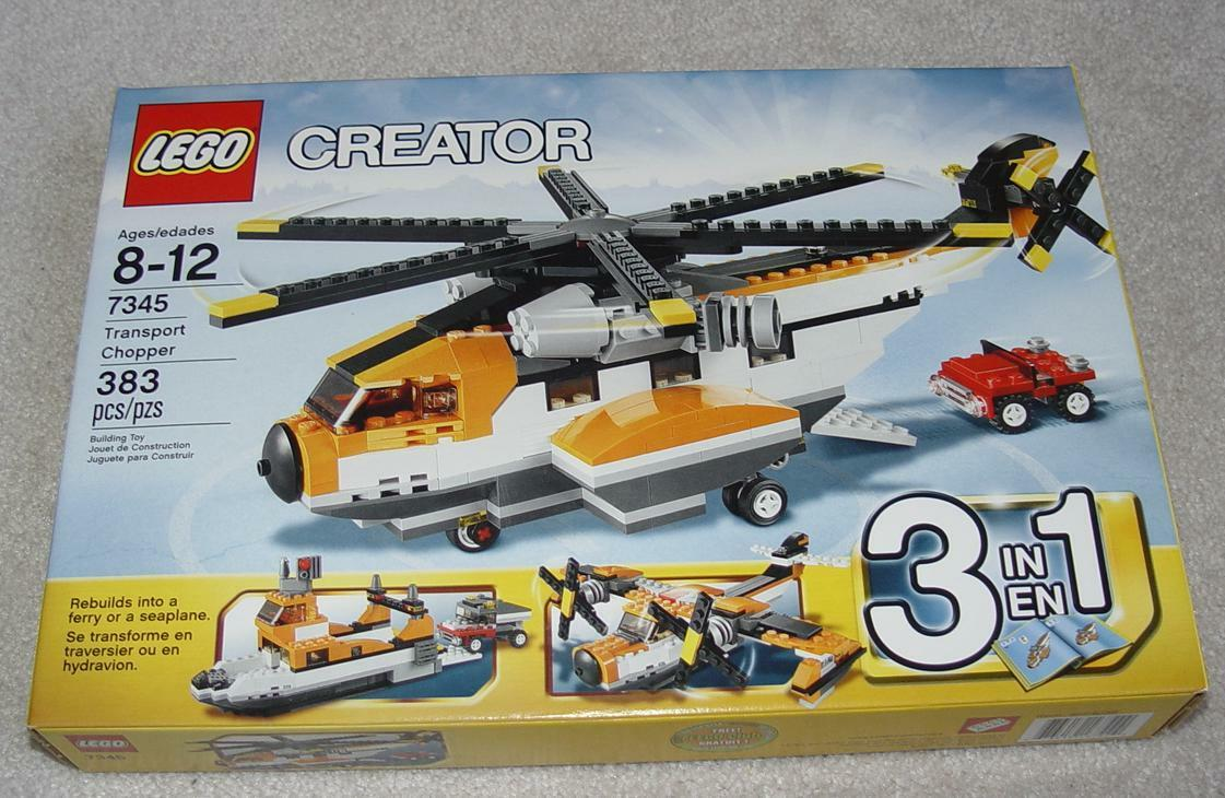 Lego Creator 7345 Transport Transport Transport Chopper Brand New Sealed Set f0ea55