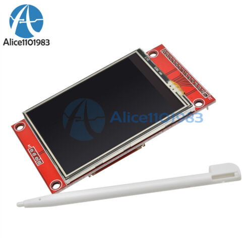 """1//2//5PCS 240x320 2.4/""""SPI TFT LCD Touch Panel Serial Port Module with PCB ILI9341"""