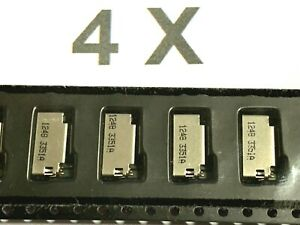 4 x 47309-3351, Molex, Micro SD Card Adapter, 8pol. HDR, 5V, vergoldet, 4 Stück
