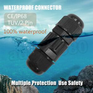 New-IP68-Waterproof-Connector-Multipole-Plug-Socket-Swimming-Pool-Light-2-Pins