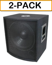 bose 8 inch subwoofer. item 2 (2-pack) mcm 555-10320 pair of 15 inch speaker subwoofer 700w 8 ohm dj / pa -(2-pack) bose e