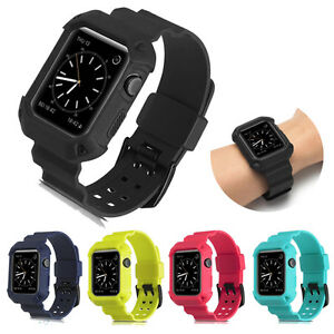 For-Apple-Watch-iWatch-38-42mm-Protective-Rugged-Case-Strap-Band-Black-Series2-1