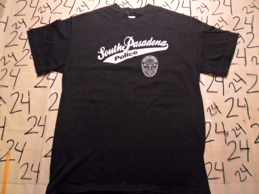 Large- Vintage Rare South Pasadena Police Dept D.A.R.E. Commemorative T- Shirt