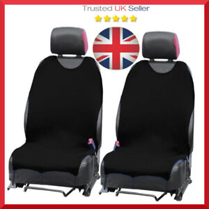 Details About 2 X Car Seat Covers Protectors For Bmw X1 X3 X5 X6 X 2 Black
