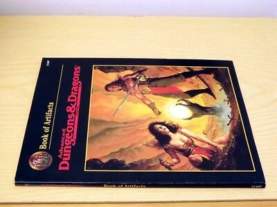 Ad&d Tsr Advanced Dungeons & Dragons Book Of Artifacts 2138p Game Rulebook 1997 Imballaggio Di Marca Nominata