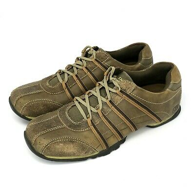 skechers seige laceup looped oxford shoes mens 12 brown