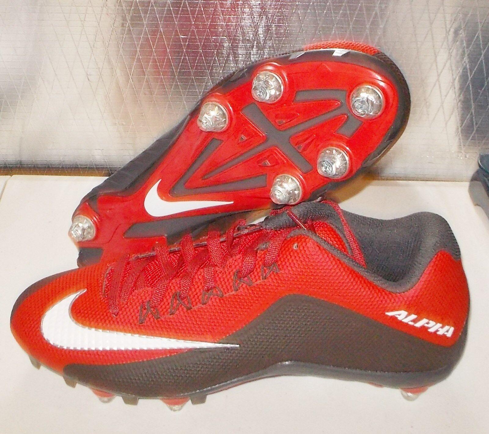 NIKE ALPHA PRO 2 D PF Detachable Football Cleats NikeSkin MENS 742767 630 NEW