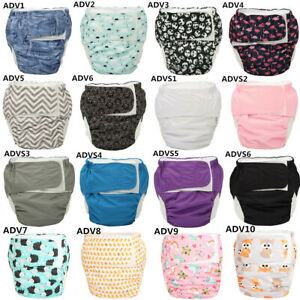 Large-Adult-Cloth-Diaper-Nappy-Reusable-Insert-Age-Play-Hook-Loop-26in-to-52in