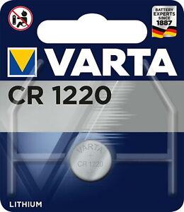 Varta-CR1220-Lithium-Knopfzelle-3V-1er-Blister-VCR1220-DL-1220-BR1220