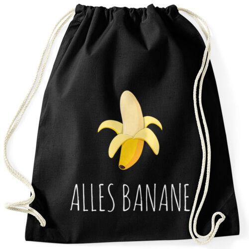 Cooler turnbeutel banana banana hipster Cool bolsa de deporte moonworks ®