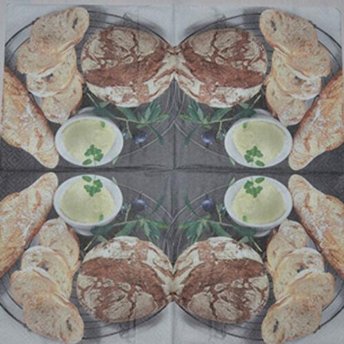 Papier serviettes de table pour craft vintage pain decoupis tea parties 251