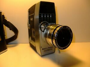 Vintage-Bell-amp-Howell-Optronic-Eye-Autoload-8mm-Zoomatic-Movie-Camera-OLD-PROP