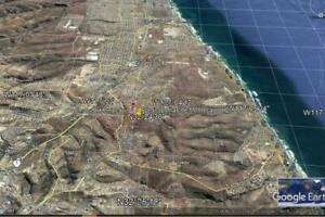 TERRENO CON MAGNIFICA VISTA PANAORAMICA A LA CIUDAD DE ROSARITO Y OCEANO PACIFICO  UBICADO EN EL ...