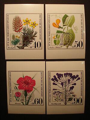 """Bund:set Mk Maximum Card """"wohlfahrt Ackerpflanzen"""" 1059-62 First Day:9.10.1980 BüGeln Nicht Diverse Philatelie"""