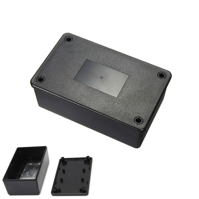 New DIY Black ABS Plastic Electronics Enclosure Project Box Brand 103x64x40mm