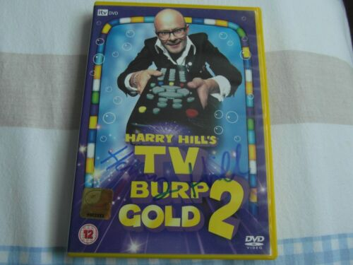 1 of 1 - SIGNED HARRY HILL TV BURP GOLD 2 DVD