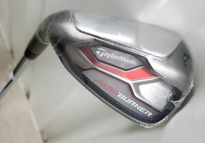 *NEW-Left H* TaylorMade golf AeroBurner 51° Approach Wedge AW - REAX steel-stiff