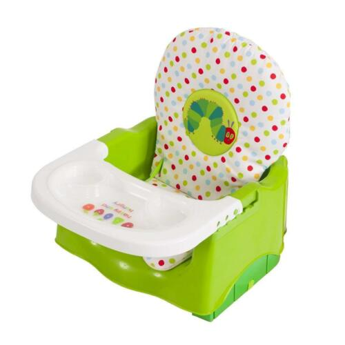 GREEN Hungry Caterpillar Booster Seat NEW Eric Carle