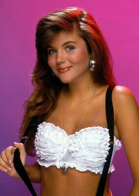 Art Print POSTER Canvas Hot Tiffani Thiessen Kelly Kapowski