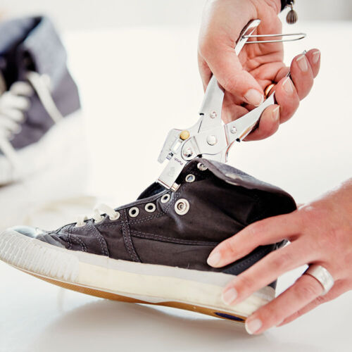 Shoe Repair Tool Rapid RP05 Eyelet Pliers 100 Aluminium Eyelets