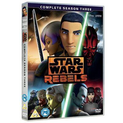 Star Wars Rebels: Complete Season 3 [DVD]