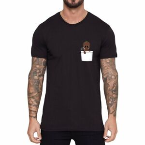 I-AM-Groot-baby-Men-039-s-Women-Ringer-T-shirts-funny-Cotton-Short-Sleeve-summer-tee