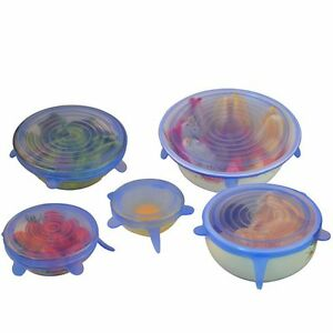 6PCS-Set-Silicone-Suction-Lid-bowl-Cooking-Pot-Silicone-Stretch-Cover-Universal