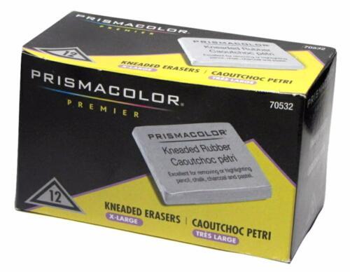 12PC 70532 Extra Large Pencil Pastel Prismacolor Kneaded Rubber Art Eraser