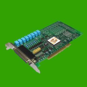 ICPDAS-8-Port-Relaiskarte-Digital-E-A-Karte-8-Relais-P8R8-Rev-B-PCI-ICP-DAS