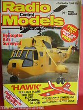 RCM&E JANUARY 1984 BAE RED ARROWS HAWK GLIDER PLAN ERIC BRAY APEX T BIRD ONE REV