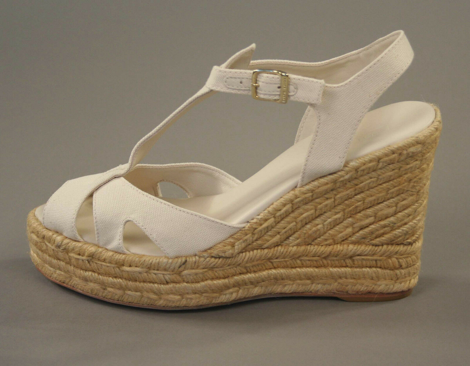 Ralph Lauren lila Label Label Label Espadrille Schuhe 10.5 Neu Kaufen 22589e