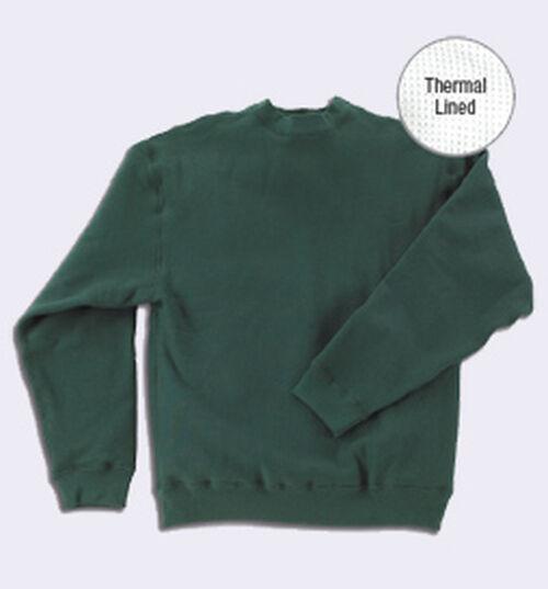 Herren Thermal Extra Extra Hwt Sweatshirt  S-4XL Tall