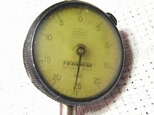 FEDERAL Indicator Dial Full Jeweled   C70  .001/""