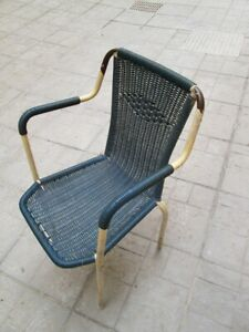 Sedie Da Bar In Plastica.Dettagli Su Sedia Da Bar Metallo E Plastica Vintage