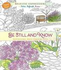 Adult Colouring Book: Be Still and Know (Travel Size) by Broadstreet Publishing (Paperback, 2016)