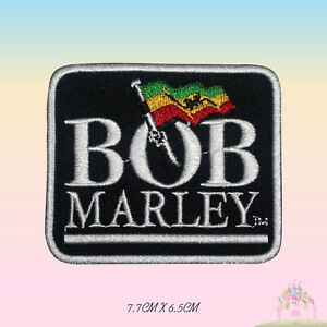 BOB-Marley-Rasta-Flag-Embroidered-Iron-On-Sew-On-Patch-Badge-For-Clothes-etc