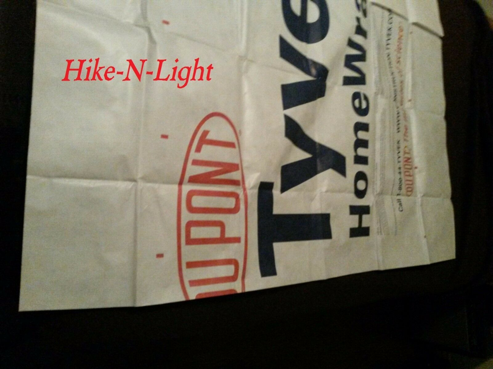 "Tyvek tent footprint /""KIT/"" w// 4 UL Grommet Tabs fits the Marmot Tungsten UL3"