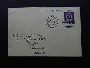 Cover United Kingdom Talyllyn Railway Centenary Towyn 1965 Oval Postmark 033 - Alteveer Gn, Nederland - Cover United Kingdom Talyllyn Railway Centenary Towyn 1965 Oval Postmark 033 2 postmarks, 1 stamp 2 corners creased, 630319MBU Please look at the photos because they are part of the description! Anything which is not visible on th - Alteveer Gn, Nederland