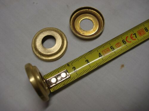 coupelle Rosaces en laiton ou dessus à étages Ø 26 mm lot de 2 réf D1
