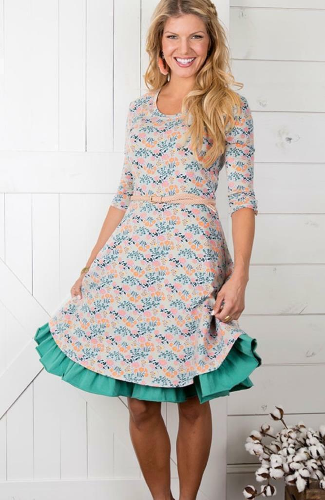 NWT Matilda Jane Joanna Gaines Once Upon A Time Down On The Farm Dress X-Small
