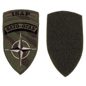 ARMY-BW-Patch-Aufnaeher-Klettabzeichen-034-ISAF-034-NATO-OTAN-neuw-Oliv