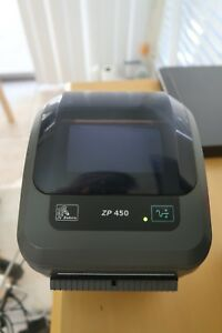 Details about Lightly Used Zebra ZP 450 CTP Label Thermal Printer