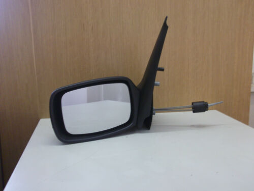 Manual Cable Black 1995-99  NEW Ford Fiesta Mk4  N//S Door Mirror