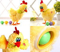 8 Electric Hen Musical Dance Lay Egg Funny Educational Kid Toy Birthday Gift