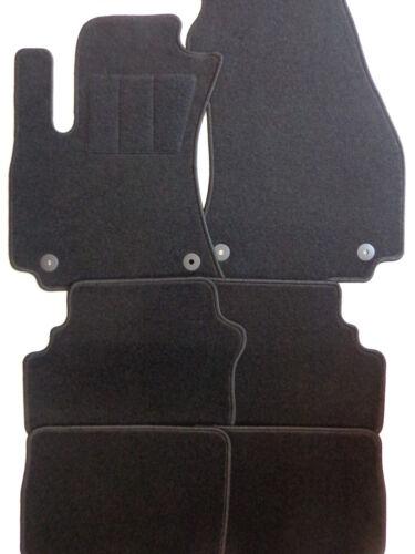 Fußmatten Autoteppiche für OPEL Zafira A Bj 99-2003 schwarz 7-Sitzer