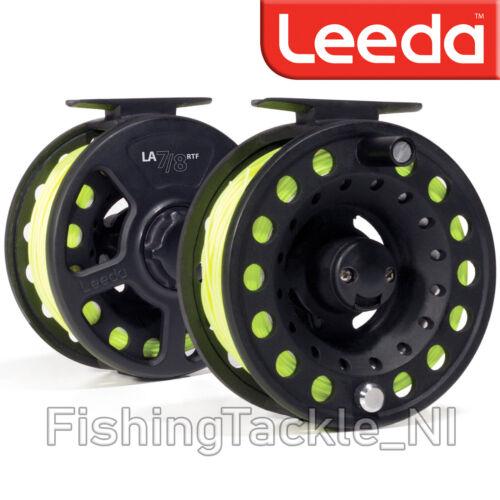 Leeda RTF entièrement chargé Fly Fishing Reel-LINE//Support//Leader inclus