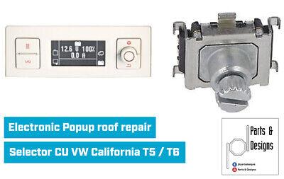 Repair Kit central selector VW California T5 T6 7H7906453 A//B//C Knob Panel
