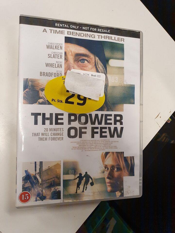 The power of few, DVD, thriller